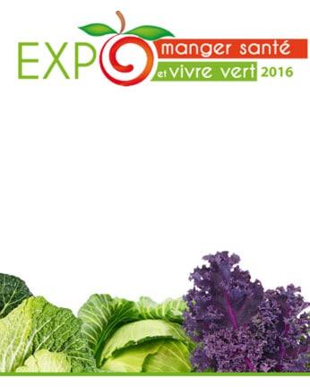 Logo Expo Manger Sante et Vivre Vert 2016