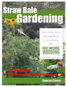 Straw bale gardening Duncan Carver Book Cover 450_585