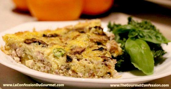 Frittata - Déjeuner santé