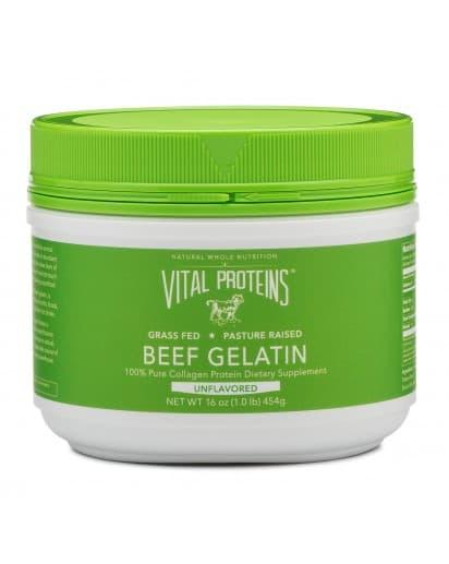 Vital Protein Beef Gelatin pour faire un smoothie santé paléo.