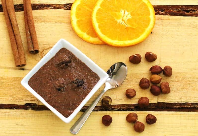 Photo de pudding de chia au chocolat pour changer nos habitudes alimentaires