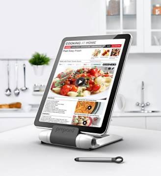 support pour ipad dans la cuisine