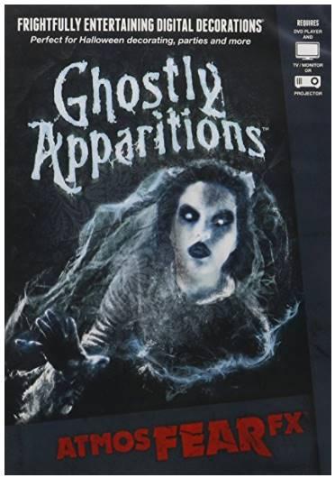 DVD de fantômes pour effets hologramme 3d Halloween - idée déco halloween