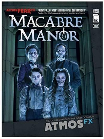 DVD de manoir macabre pour effets hologramme 3d Halloween idée déco halloween