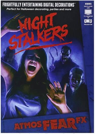 DVD de massacre de nuit pour effets hologramme 3d Halloween - idée déco halloween