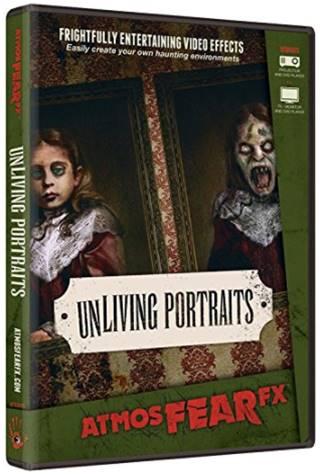 DVD de cadres portraits sans vie pour effets hologramme 3d Halloween - idée déco halloween