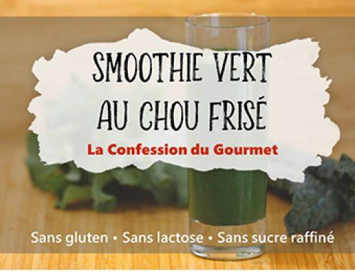 Smoothie Vert au Chou Frisé