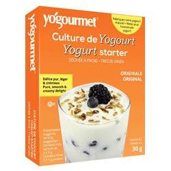 Boite de culture de yogourt pour lait de vache, de soya et de chèvre (lien affilé vers Amazon Canada)