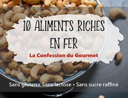 10 Aliments Riches en Fer