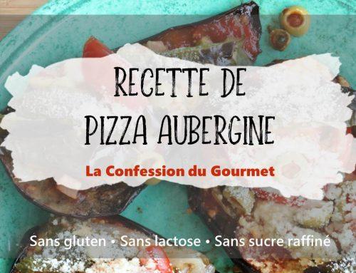 Recette de Pizza Aubergine