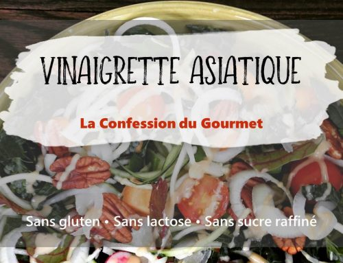 Vinaigrette Asiatique