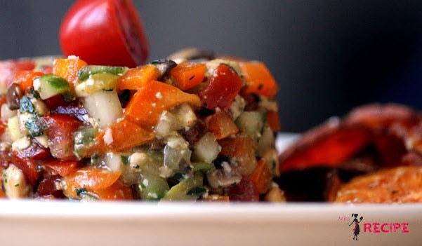 Recette tartare de légumes sur cette compilation par la confession du gourmet.