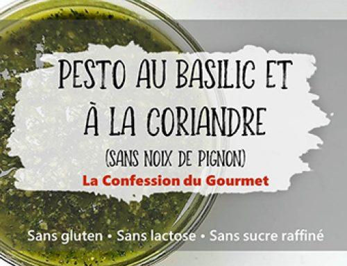Pesto au Basilic et Coriandre
