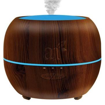 Diffuseur d'huiles essentielles disponibles en 3 couleurs sur Amazon - lien affilié