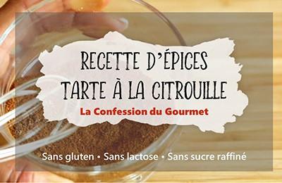 Fiche titre de la recette d'épices tarte à la citrouille
