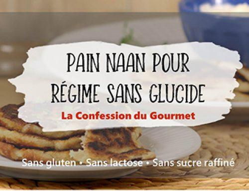 Pain Naan pour régime sans glucide (cétogène)