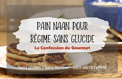 Page titre de pain naan pour régime sans glucide, contenant un des aliments riches en fibres, le psyllium
