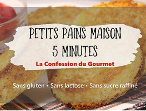 Petits pains maison 5 minutes