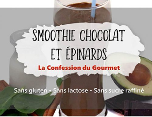 Smoothie Chocolat et Épinards
