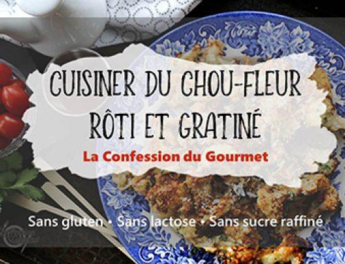 Cuisiner du chou-fleur rôti et gratiné