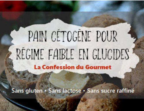 Pain cétogène pour régime faible en glucides