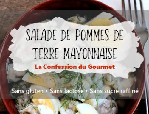 Salade de pommes de terre mayonnaise