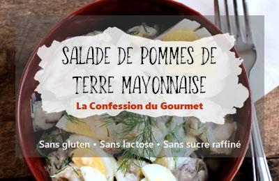 Image de la recette avec titre : salade de pommes de terre mayonnaise