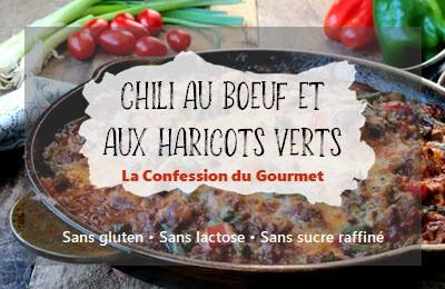 Page titre de la recette chili au boeuf et aux haricots verts