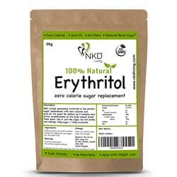 Erythritol sur Amazon France pour cuisiner des gaufres sans gluten au chocolat (lien affilié)