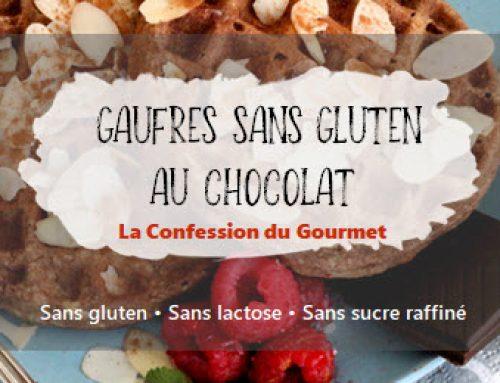 Gaufres sans gluten au chocolat