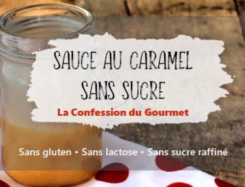 Sauce au caramel sans sucre