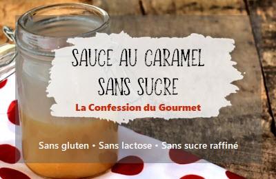 Page titre de la recette : sauce au caramel sans sucre