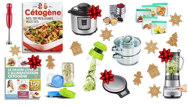 Photo de divers idées cadeaux compris dans l'article 10 idées cadeaux pour cuisiner keto
