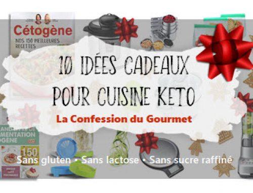 10 idées cadeaux pour cuisiner keto