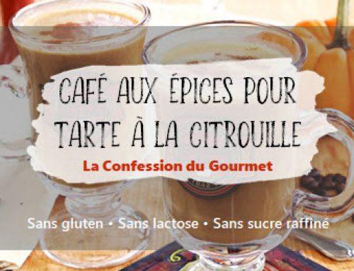 Café aux épices pour tarte à la citrouille