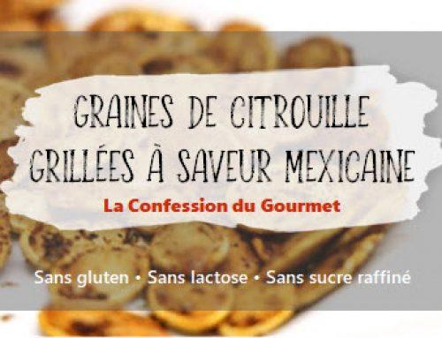 Graines de citrouille grillées à saveur mexicaine