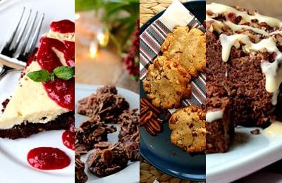Aperçu de 4 desserts cétogènes contenu dans cet article