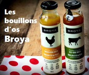 Les bouillons d'os Broya sur Well.ca