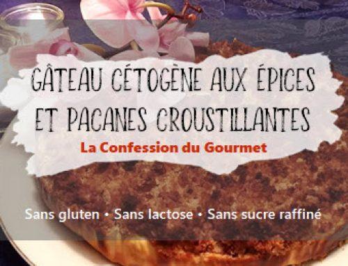 Gâteau cétogène aux épices et aux pacanes