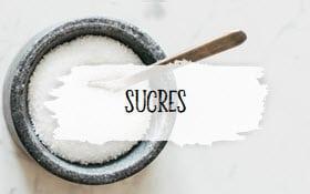 Catégorie sucres, photo à cliquer