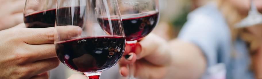 3 verres de vin faibles en sucre dans la catégorie vin rouge