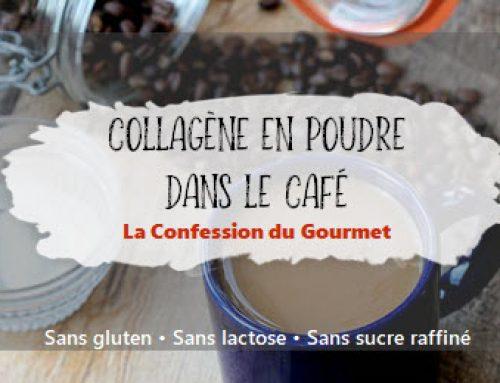 Collagène en poudre dans le café