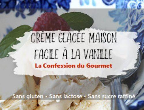 Crème glacée maison facile à la vanille