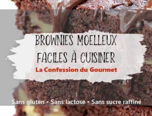Brownies moelleux faciles à cuisiner