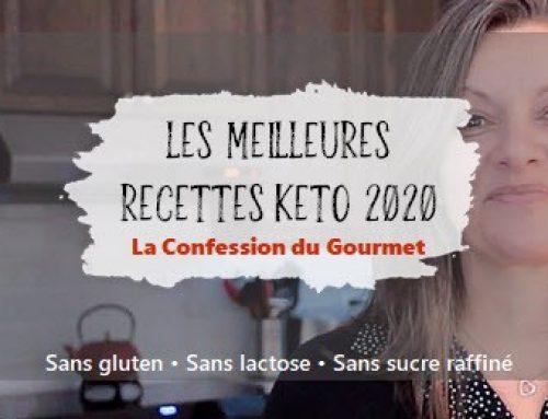 Les meilleures recettes keto de l'année 2020