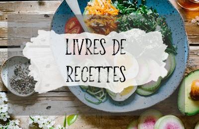 Catégorie livres de recettes