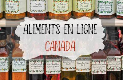 Catégorie aliments en ligne pour le Canada