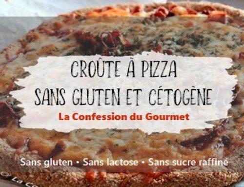 Croûte à pizza sans gluten et cétogène