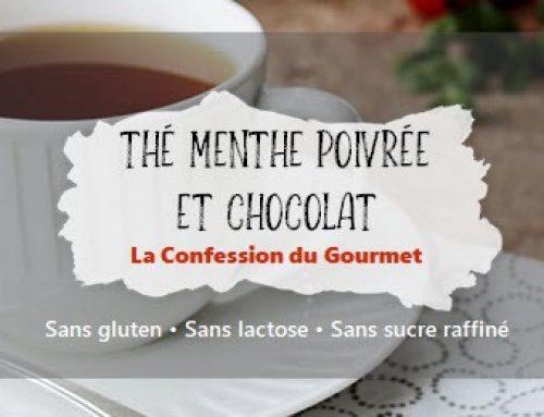 Thé menthe poivrée et chocolat