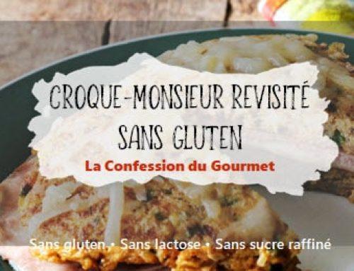 Croque-monsieur revisité sans gluten